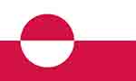 Greenland flag courtesy of FlagPictures.org