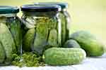 Pickled cucumbers (courtesy of Pixabay.com)