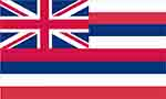 Hawaii state flag courtesy of FlagPictures.org