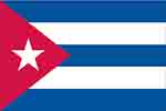 Cuban flag (courtesy of FlagPictures.org)